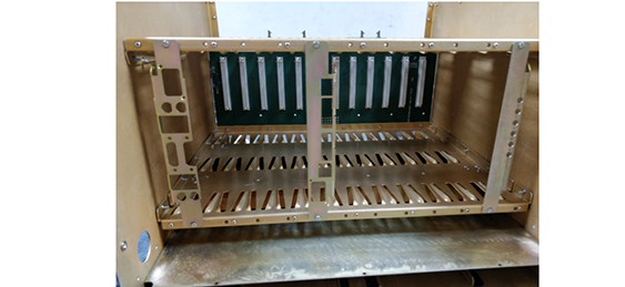 Mechanical Assembling of 12 slot chassis